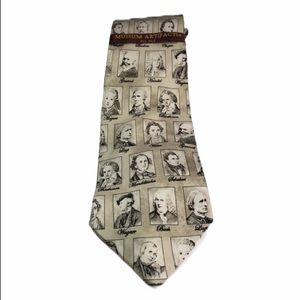 Museum Artifacts NEW Classic Composer Tie …